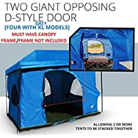 Standing Room Family Cabin Tent 8.5 FEET OF HEAD ROOM 2...