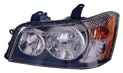 Depo 312-1155R-AS Toyota Highlander Passenger Side Replacement Headlight Assembly 02-00-312-1155R-AS