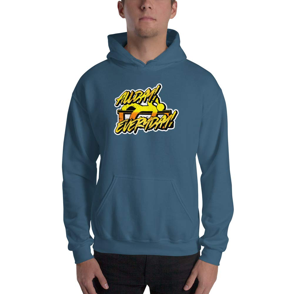 Spicy Cold Apparel All Day Everyday Gildan 18500 Mens Heavy Blend Fleece Classic Fit Hooded Sweatshirt