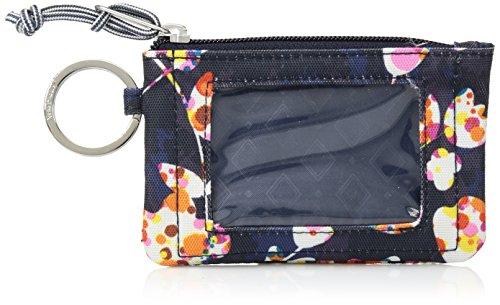 Vera Bradley Lighten up Zip ID Case, Polyester, Cut Vines by Vera Bradley