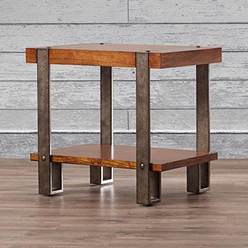 Sierra Accent End Table (Sierra End Table, Oak)