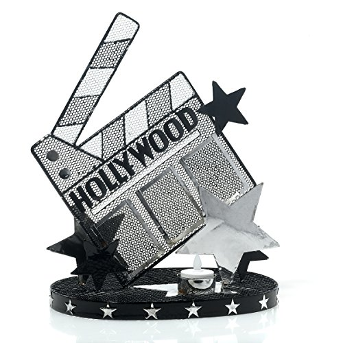 Hollywood Clapboard Wire Centerpiece Set of 2, 12.6 Inches High, 2 Battery Operated Tea Lights for $<!--$42.99-->