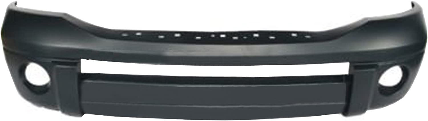CarPartsDepot 352-171154-10-PM FRONT BUMPER COVER LARAMIE ASSEMBLY PRIMED CH1000873
