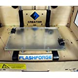 "StrongFinish Thermal Glass for 3D Printer Platform Printing Bed 9"" x 6' x 0.25"""