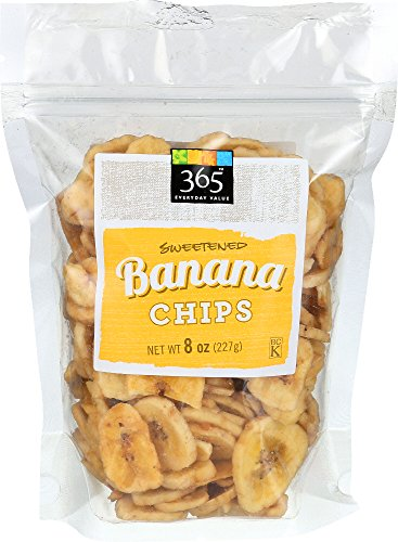 (365 Everyday Value, Sweetened Banana Chips, 8 Ounce)