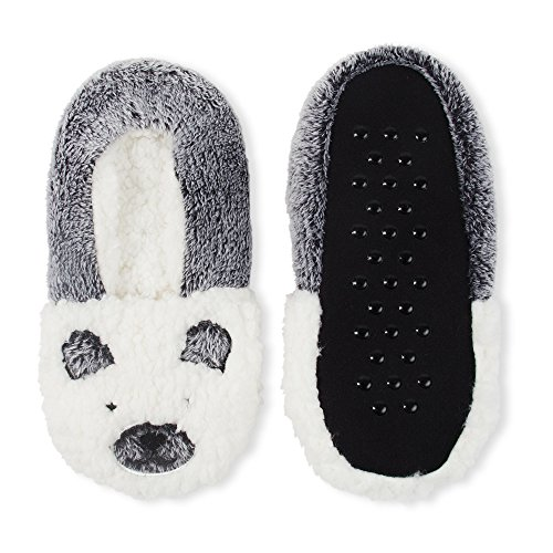 Babbo Donne Sognanti Calzini Da Pantofola Animale Critter Inverno Caldo Orso Bianco