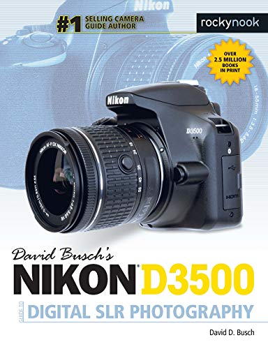David Busch's Nikon D3500 Guide to Digital SLR Photography is your all-in-one comprehensive resource and reference for the Nikon D3500 camera, the company's most compact and easy-to-use entry-level dSLR. Taking and sharing pictures is easier than eve...