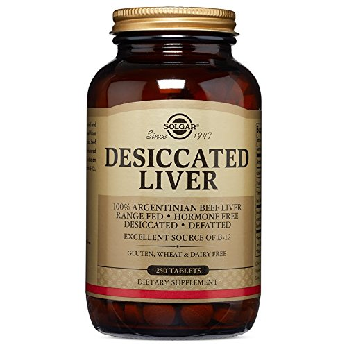 Solgar Desiccated Liver Tablets Count product image