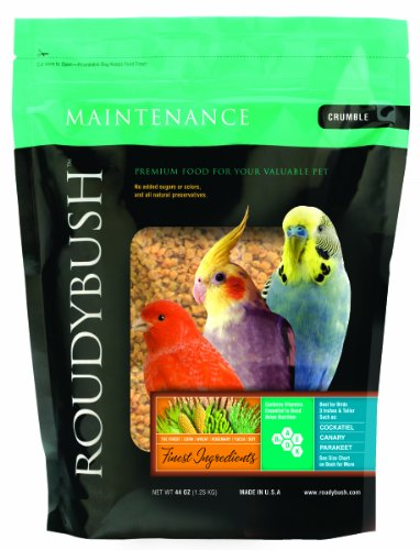 Roudybush Daily Maintenance Bird Food, Crumbles, 44-Ounce, My Pet Supplies