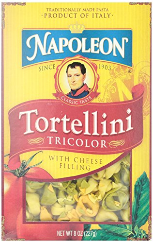 Napoleon Tri-Color Tortellini, 8 oz
