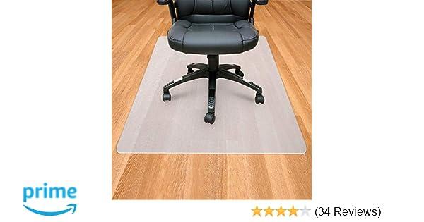 Amazoncom Office Chair Mat For Hardwood Floor Polypropylene