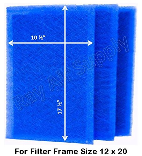 Dynamic Air Filters (3 Pack) (12x20)