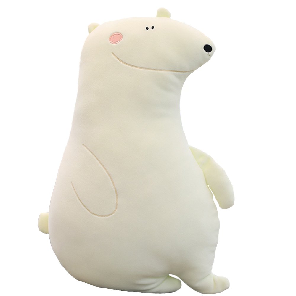 MARUKQW Soft Plush Cartoon Polar Bear Cute Animals Pillow Reduce Pressure Toy Car Toy 20 inch