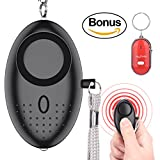 defense whistle - Bestdotek Personal Alarm Keychain, 140dB Personal Safety Alarms for Women Self Defense, Personal Portable Security Alarms with LED Lights,with a Bonus Key Finder