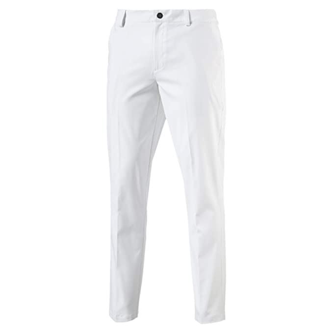 61af8512504e89 Puma Tailored Tech, Pantaloni Uomo, Bright White, Size W34/L32: Amazon.it:  Sport e tempo libero