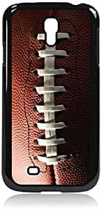 Football Up-Close - Case for the Galaxy S4 i9500 -Hard Black Plastic Case wangjiang maoyi