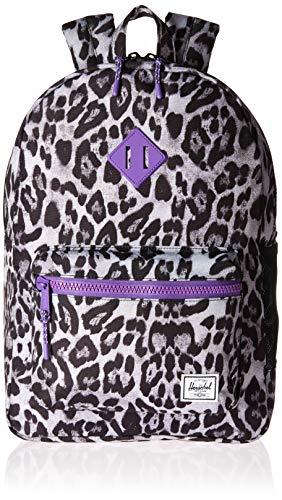 0a4ee77807a Herschel Kids  Heritage Youth XL Children s Backpack Snow Leopard Deep  Lavender ...