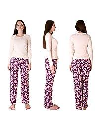 Cherokee Womens Women's 2 Piece Pajama Set Pajama Set