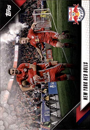 2019 Topps MLS #190 New York Red Bulls Soccer Trading Card