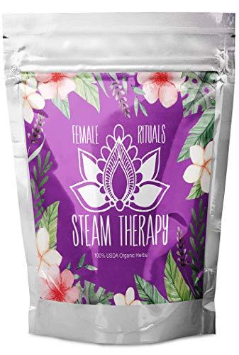 Yoni Steaming Herbs | V Steam | Vaginal Detox Steam Cleansing Kit | Feminine Goddess Sitz Bath | Organic Chai Yok Wash (2-4 Steams) -