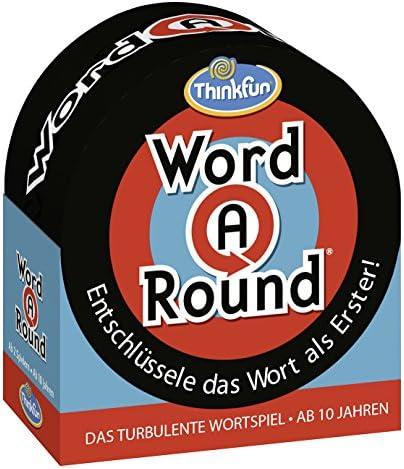 ThinkFun 76307 Word A RoundTM - Juego de Mesa (en alemán): Word A Round(TM) ThinkFun: Amazon.es: Juguetes y juegos