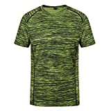 Funny T Shirts,Men's New Summer Round Neck Loose Size Sports Fitness Short Sleeves Fast Dry Top,Men's Fashion Hoodies & Sweatshirts,Green,8XL