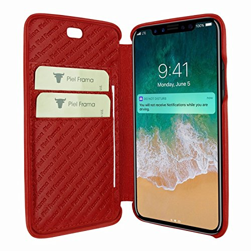 Piel Frama U794R Case ''Emporium'' for iPhone X - Red by Piel Frama (Image #1)