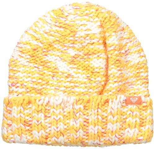 Roxy SNOW Women's Eiger Beanie, Blazing Yellow, One Size