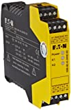 Eaton ESR5-NO-41-24VAC-DC Safety Relay, Single Channel Main Unit, 4 NO Safety Output, 1 NC Signal Output, 24 VAC/DC Control Voltage
