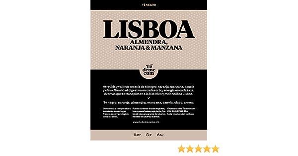 Té negro, naranja, almendra, manzana, canela, clavo, aroma.: Amazon.es: Alimentación y bebidas