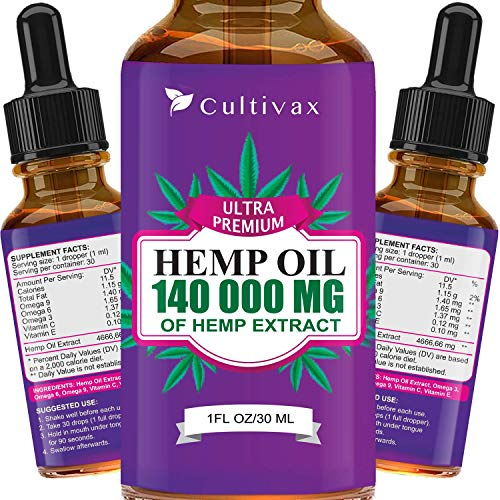 Cultivax Hemp Oil 140