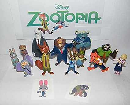 Amazon Com Disney Zootopia Deluxe Party Favors Goody Bag Fillers