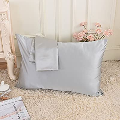 Amazon.com: Ultra suave funda de almohada de raso para ...