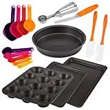 Baker's Secret 17pc Metal & Gadget Bakeware Set, Multicolor Deal (Small Image)