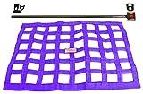 Southwest Speed Purple Racing Window NET & Push Button Installation KIT W/Hardware,18'' X 22'' Ribbon,Modified,Late Model,Street Stock,Grand National,Mini-Stock,Factory Stock,Dwarf Cars,Legends