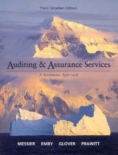 Auditing & Assurance Services, 3rd Edition