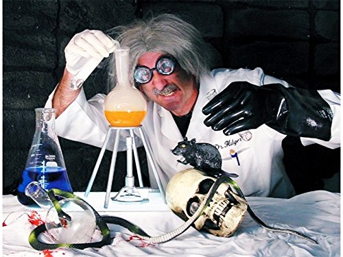 Mad Scientist Lab Kit Halloween Haunted House Prop New For (Halloween Science Lab Props)