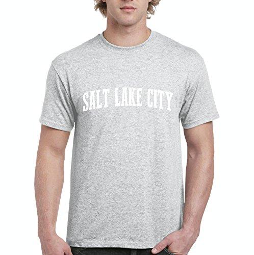 NIB Salt Lake City UT Utah Map Home Of Aggies Utes University Of Utah Mens Shirts ()