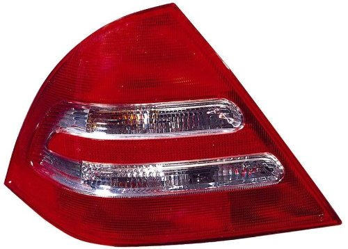 Depo 340-1902L-US Mercedes-Benz C-Class Driver Side Replacement Taillight Unit without Bulb ()