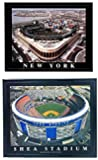 Framed New York Mets Citifield and Shea Stadium Photos (SET OF 2)