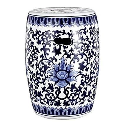 ceramic drum bathroom porcelain jindezhen blue garden stool item dressing chinese