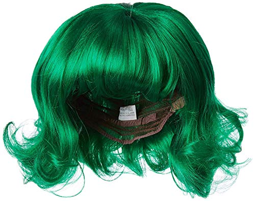 Costume Adventure Forest Green Flip Character Costume Wig