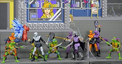 Teenage Mutant Ninja Turtles TMNT Arcade Game Foot Clan ...