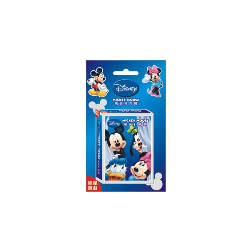 Disney Mickey Minnie Mouse Donald Duck Goofy Poker Cards Playing Cards Toy Sports & Outdoors