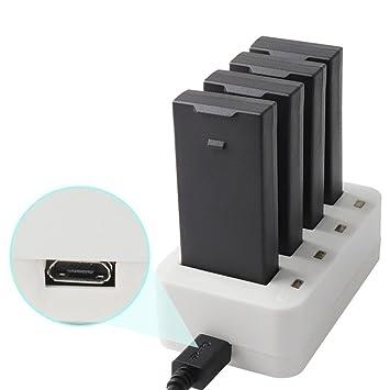 Diadia - Cargador de batería 4 en 1 para dji Tello Drone: Amazon ...
