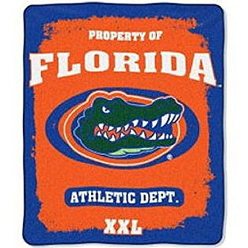 60' Micro Raschel Blanket - The Northwest Company FLORIDA GATORS NCAA NORTHWEST MICRO RASCHEL THROW 50