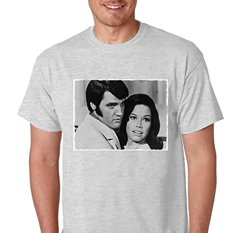 Mary Tyler Moore & Elvis Presley 1969 in film Change of Habit T Shirt X-Large - Tyler Mall
