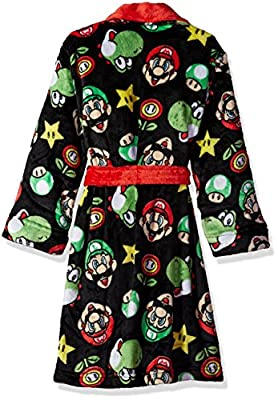 Komar Kids Big Boys' Mario Robe
