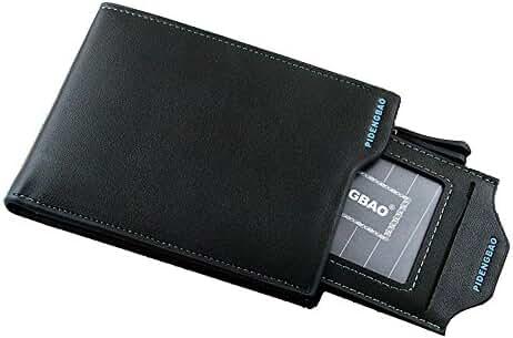 Leather Multi-card Position Purse Long Zipper Wallet