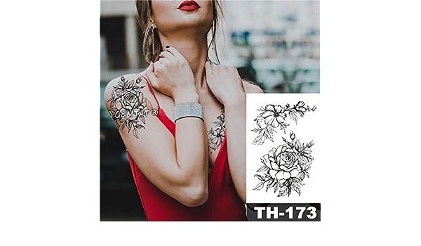 tzxdbh 5pcs Tatuaje Impermeable Etiqueta engomada 3D de inyección ...